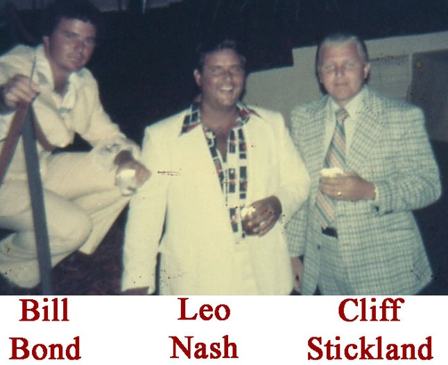 Bill Bond - Leo Nash - Cliff Stickland