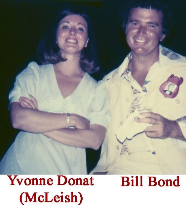 Yvonne Donat (McLeish) & Bill Bond