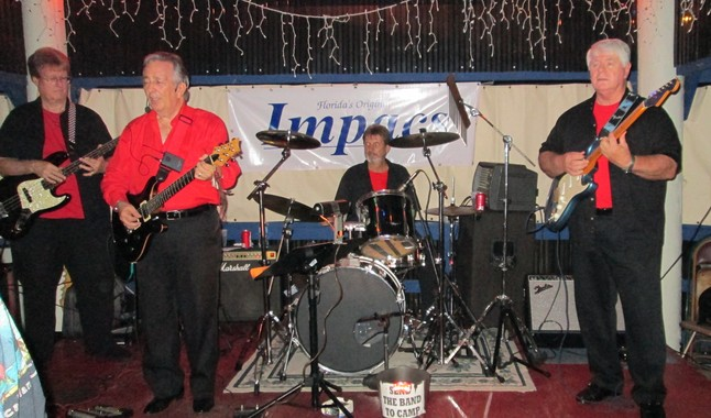 The Impacs, playing for the NeHi 1965 crowd at the Blue Parrott, St. Pete Beach, FL