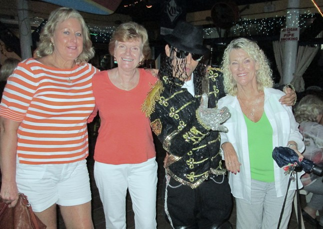 Michael and the Girs, at the Blue Parrott, St. Pete Beach, July 11, 2012